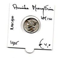 AMERIKA MERCURY DIME 1935 ZILVER - 1916-1945: Mercury (Mercure)