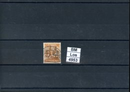 All. Besetzung, Gemeinschaftsausgabe, O, 951 Mit Durchstich D.M. - Zone AAS