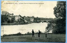 CPA 44 Loire Atlantique Guenrouet / Canal, Pont, St-Clair-en-Plessé - Guenrouet
