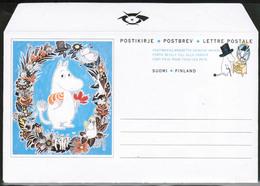 1994 Finland, Postal Letter, Moomins Mint - Postwaardestukken