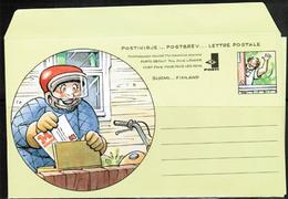 1996 Finland, Postal Letter, Mämmilä Mint - Postwaardestukken