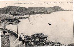 TRESTRAOU ( 22 ) - Anciennes Fortifications Et L'Ile Bons . - Autres Communes
