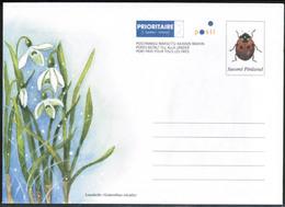 Finland, Postal Letter, Insect Mint - Postwaardestukken