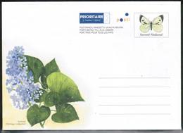 Finland, Postal Letter, Butterfly Mint - Postwaardestukken
