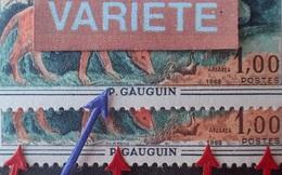 "1591/704 - 1968 - GAUGUIN - N°1568 TIMBRES NEUFS** - VARIETES ➤➤➤ "" DJRRENS "" Au Lieu De DURRENS / Bande Blanche Au Sud - Errors & Oddities"