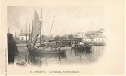 56 LORIENT Les Quais Pont Tournant  Ed Laussedat Etat Impeccable  NEUF *** - Lorient