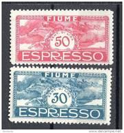FIUME 1920 -UNGHERIA ESPRESSI S.33 MH* - Fiume