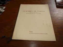 Extrait Archives économiques Glaceries De Saint-Roch à Auvelais - Publicités