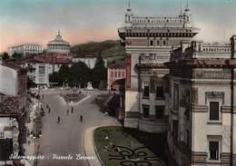"""010061 """"(PR) - SALSOMAGGIORE - PIAZZALE BERZIERI - COLORATA A MANO""""  ANIMATA. VERA FOTO.  CART NON SPED - Parma"""
