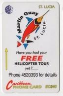 SAINTE LUCIE REF MV CARDS STL-13A Année 1994 40EC$ 13CSLA MARLIN - St. Lucia