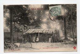 - CPA BOIS DE CHAVILLE (92) - Une Cabane De Bûcherons 1906 (avec Personnages) - Collection FLEURY N° 13 - - Chaville