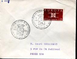 Journées Du Verre Et Du Charbon - Aniche (59) - 31 Mai 1964 - Marcophilie (Lettres)