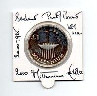 IERLAND PUNT POUND 2000 ZILVER MILLENNIUM - Irlanda