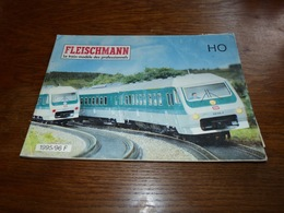 Catalogue Miniature Fleischman 1995/96 - 156pages  Train électrique - Unclassified