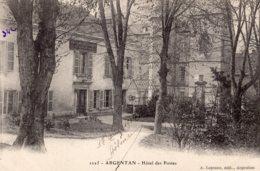 B65812 Cpa Argentan - Hôtel Des Postes - Argentan