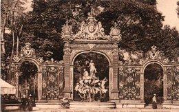 CPA NANCY - PLACE STANISLAS - GRILLE EN FER FORGE DE JEAN LAMOUR - Nancy