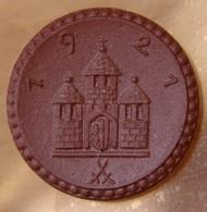 Allemagne - Freiberg  50 Pfennig 1921 Notgeld En Porcelaine. - [ 2] 1871-1918: Deutsches Kaiserreich