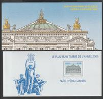 """Bloc Souvenir -  2007 -  N° 24  """" Opéra Garnier  2006 """" -  Le Plus Beau Timbre De L'Année 2006  -  Neuf - - Blocs Souvenir"""