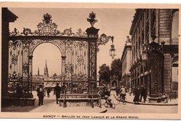 CPA NANCY - GRILLES DE JEAN LAMOUR ET LE GRAND HOTEL - Nancy