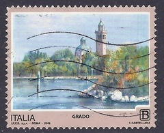 Italia / Italy - 2018 Serie Turistica, Località Turistiche, Grado, Tourism, Tourisme, Paesaggi, Used - 2011-...: Usados