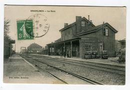 Cpa - GRAVELINES La Gare - Gravelines