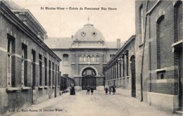 Belgique - Sint-Niklaas - St. Nicolas -Entrée Du Pensionnat - Rue Neuve - Sint-Niklaas