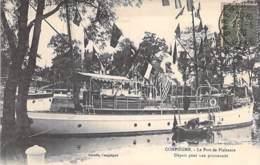 60 - COMPIEGNE : Le Port De Plaisance - Départ D'un Bateau De Promenade - Jolie CPA - Oise - Compiegne