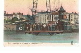 CPA Nantes (44) La Nacelle Du Transbordeur Écrite En 1916 - Nantes