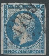 Lot N°54965   N°14B, Oblit Tardive GC 1769 Le HavreSeine-Infèrieure (74), Bonnes Marges - 1853-1860 Napoleon III