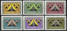 Portugal 1962. Mi.Nr. 917-22, *, MLH - Ungebraucht