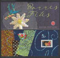 """Bloc Souvenir -  2008 -  N° 35   """" Bonnes Fêtes """"  -  Cœur  -  Neuf   - - Blocs Souvenir"""