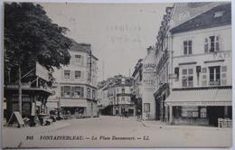 FONTAINEBLEAU. - La Place Dennecourt - CPA 1931 - Fontainebleau