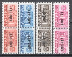 Trieste A 1953 Pacchi In Concessione Sass.PC 1/4 **/MNH VF/F - Paketmarken/Konzessionen