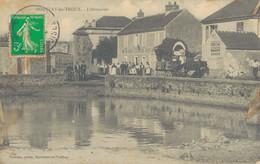 J87 - 91 - BOULLAY-LES-TROUX - Essonne - L'Abreuvoir - Tabac Vins Liqueurs - N. Fournier - France