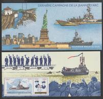 """Bloc Souvenir -  2009 -  N°  46   """"Jeanne D' Arc """"  -Dernière Campagne Du Navire Porte - Hélicoptères -  Neuf   - - Blocs Souvenir"""