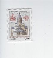Série Touristique Basilique D'Orcival 4446 Oblitéré 2010 - Francia