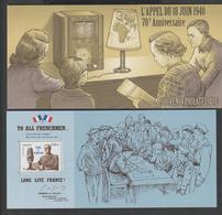 """Bloc Souvenir -  2010 -  N°  48   """" Appel Du 18 Juin 1940  """"  - 70 éme Anniversaire -  Neuf   - - Souvenir Blocks & Sheetlets"""
