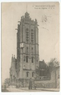 BEAUMONT SUR OISE Tour De L'église - Beaumont Sur Oise