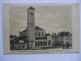 N93 Ansichtkaart Eindhoven Strijp - Kerk, Pastorie En Kosterswoning Parochie Antonius Van Padua - Eindhoven