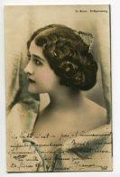 ARTISTE 0805 CAVALIERI Joli Portrait Profil Théatre Michel St Petersbourg    1905 Timb  Photog  REUTLINGER - Entertainers