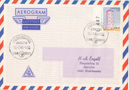 Denmark Air Mail Cover Scout Scouting Jaegerspris 20-7-1980 Spejd 80 Denmark - Covers & Documents