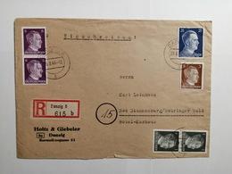 Deutsches Reich  Briefumschlag 1944 - Allemagne