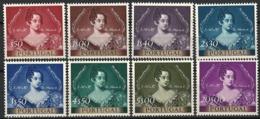 Portugal 1953. Mi.Nr. 815-22 *, MLH - 1910-... Republic
