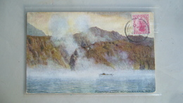Steaming Cliffs, Rotomahana - Nouvelle-Zélande