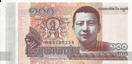 CAMBODGE 100 RIELS 2014 UNC P 65 - Cambodja