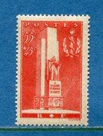 France - YT N° 395 - Neuf Avec Charnière - 1938 - - Ungebraucht