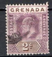 GRENADE - (Colonie Britannique) - 1902 - N° 40 - 2 P. Violet-brun Et Brun - (Edouard VII) - Central America