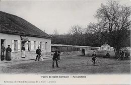 1906 - Forêt De Saint-Germain : Faisanderie (cliché Avec Garde-chasse) - St. Germain En Laye
