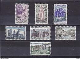FRANCE 1960 TOURISME Yvert 1235-1241 NEUF** MNH Cote : 11,50 Euros - Ungebraucht