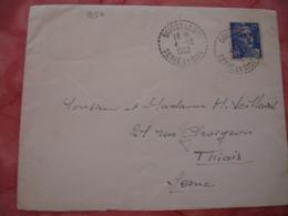 Boissy Le Sec Facteur Boitier Obliteration Sur Lettre - 1921-1960: Modern Tijdperk